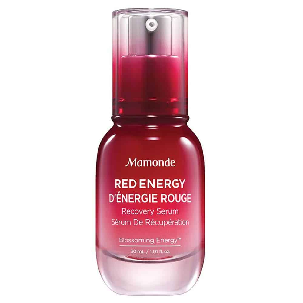 Mamonde Red Energy Recovery Serum Facial Treatment