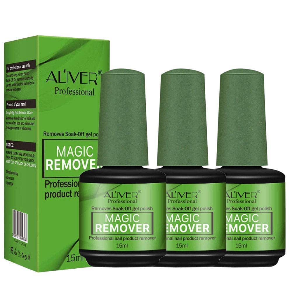 Nail Polish Remover 3 Pieces
