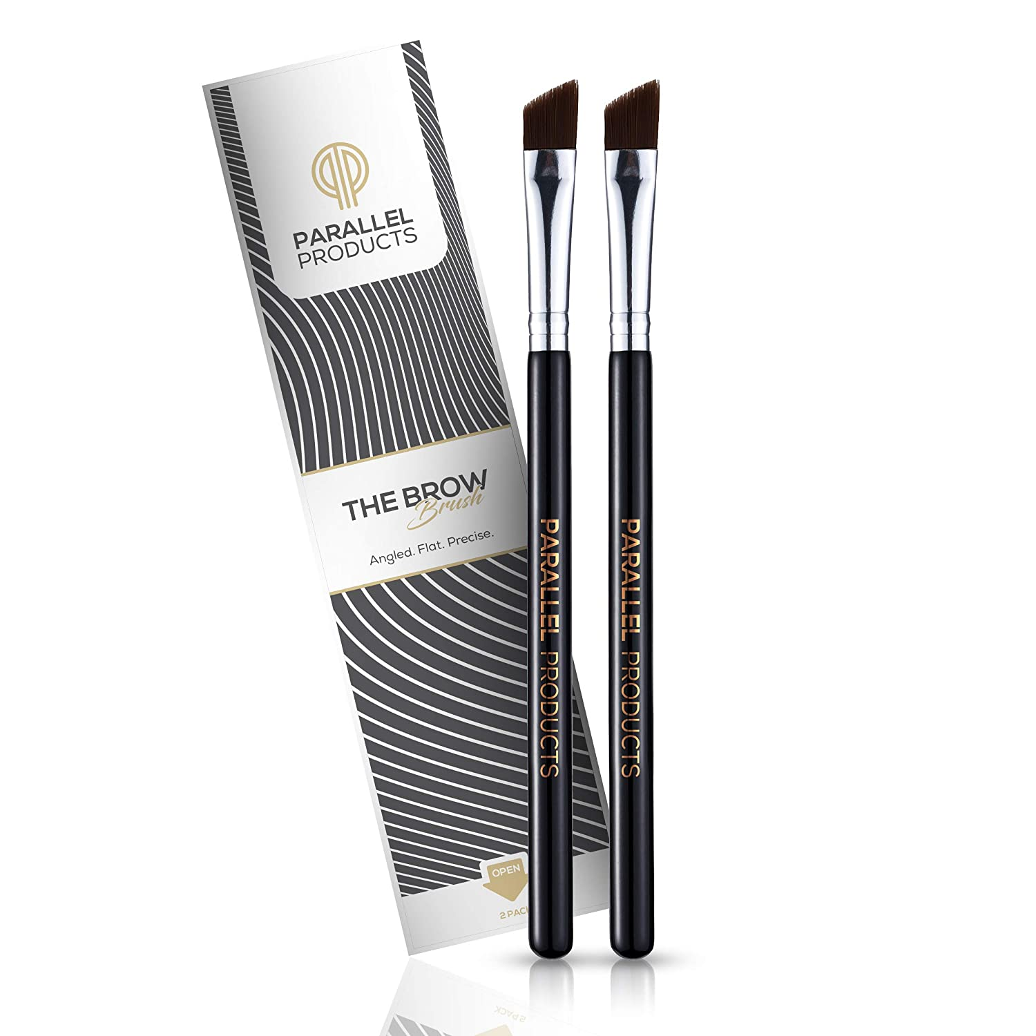 PARALLEL PRODUCTS Premium Angled Eyebrow Brush