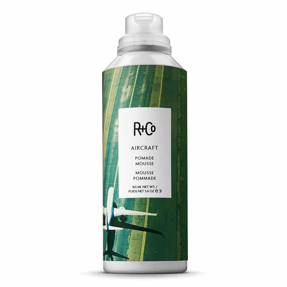 R+Co Aircraft Pomade Hair Mousse and Foam