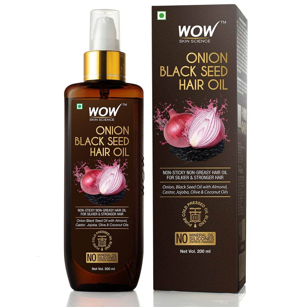 WOW Onion Black Seed Hair Oil