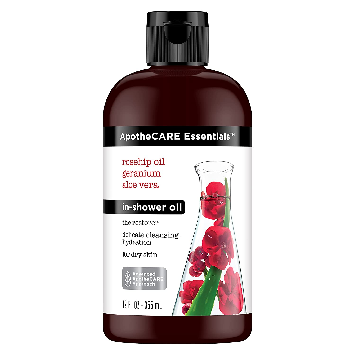 ApotheCARE Essentials the Restorer In-Shower Oil