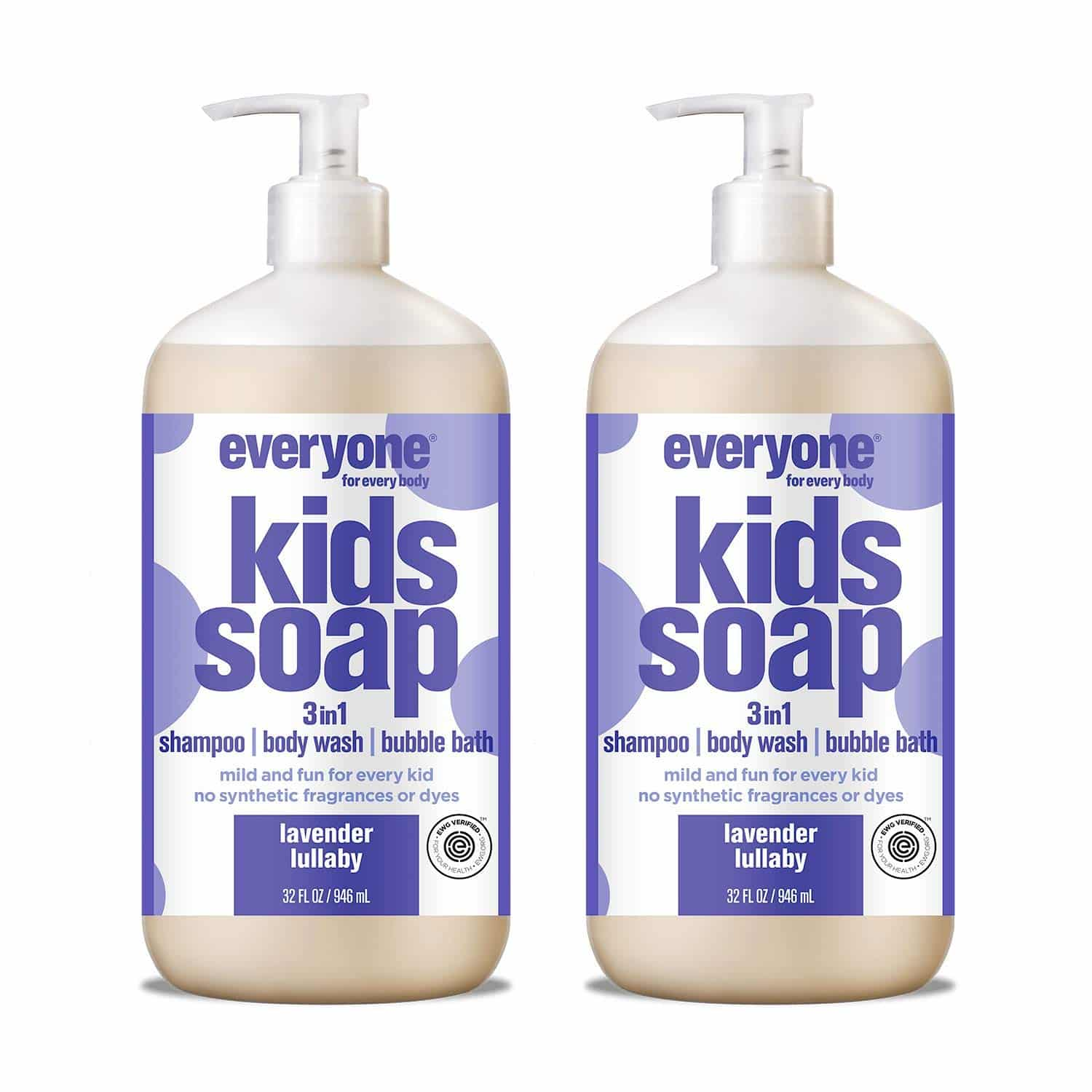 Everyone 3-in-1 Kids Bubble Bath