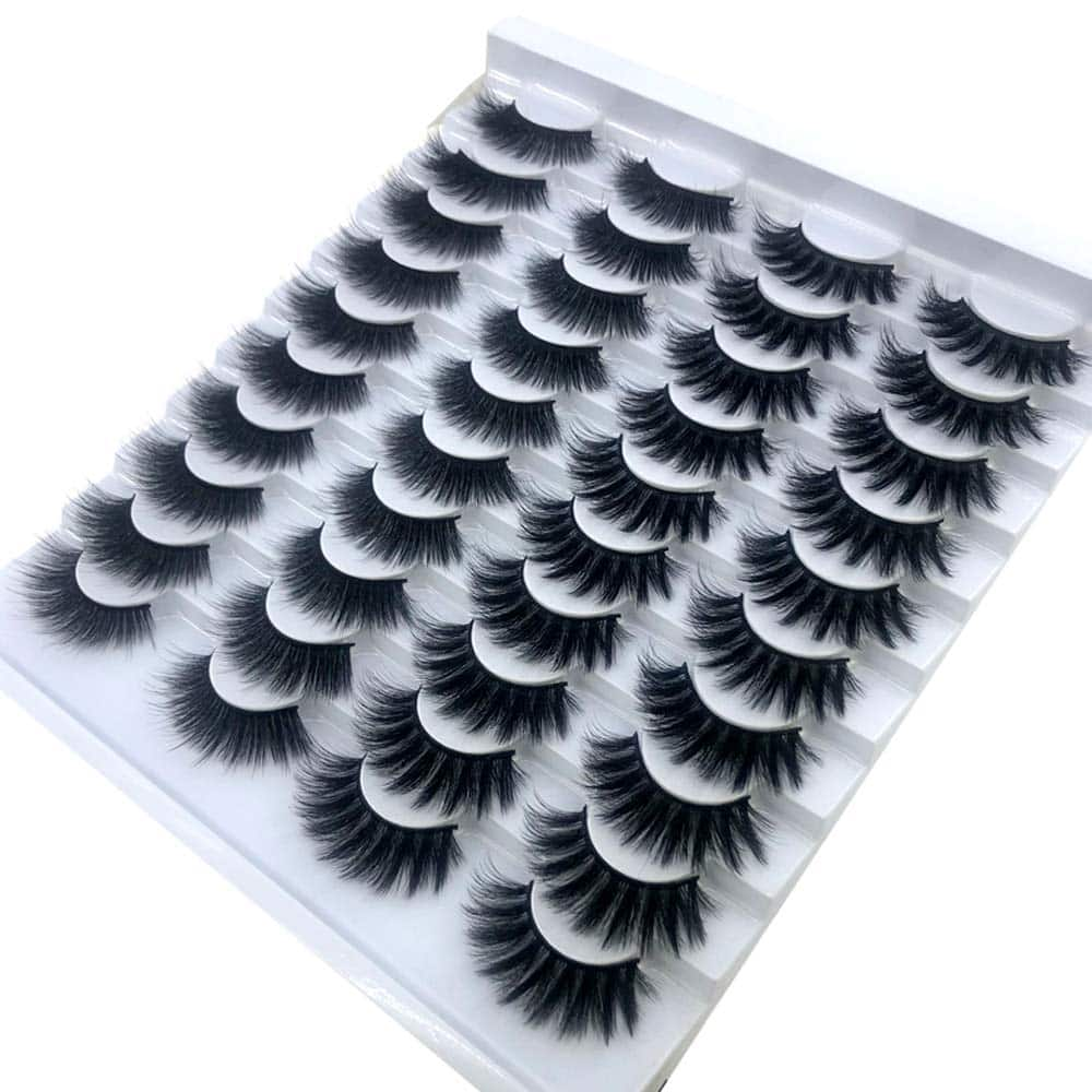 HBZGTLAD 20 pairs False Eyelashes