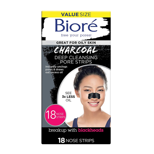 Biore' Charcoal Deep Cleansing Pore Strips