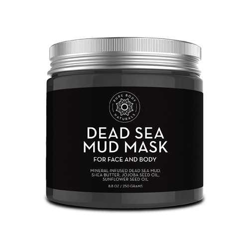Pure Body Naturals Dead Sea Mud Mask for Face and Body