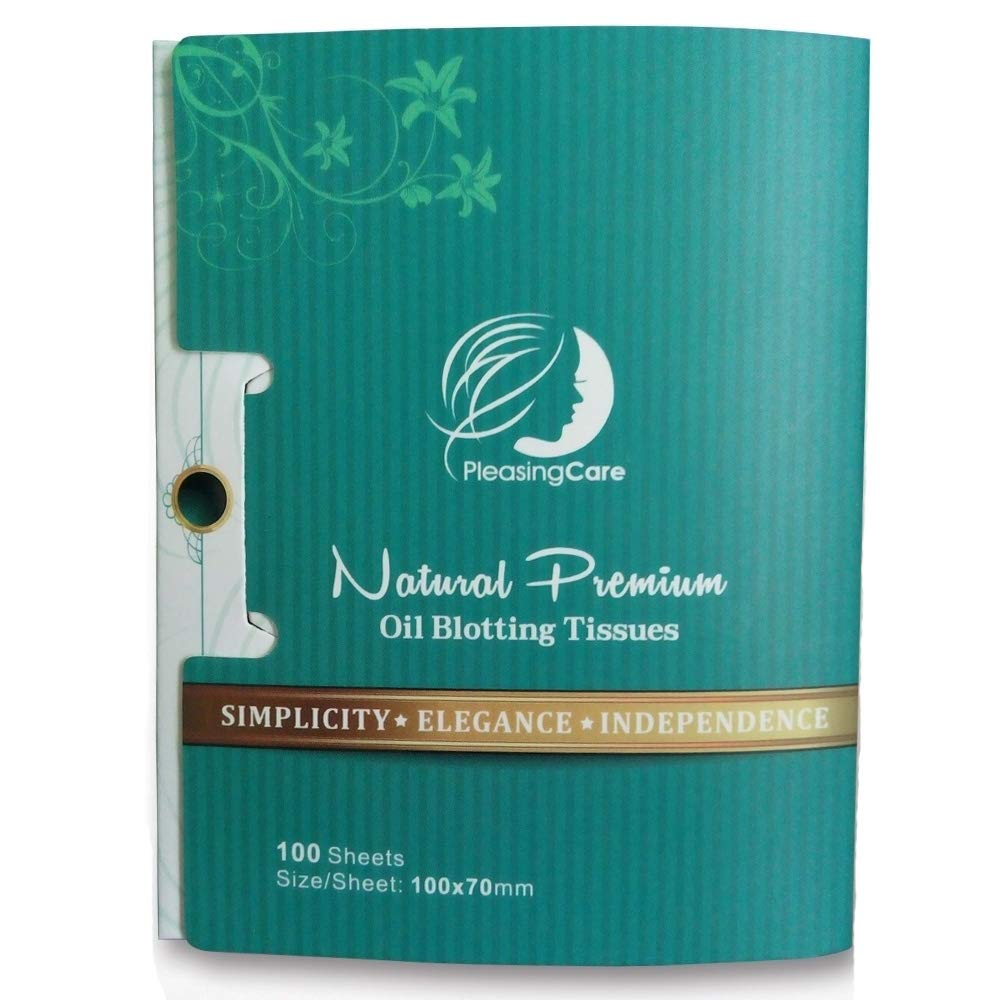 Pleasing Care Natural Bamboo Charcoal Oil Blotting Papers